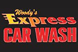 Woody's Express Car Wash logo