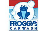 Froggy's Car Wash logo