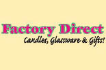 Factory Direct Candles, Glassware & Gifts logo