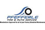 Pfefferle Tire and Auto Service logo