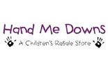 Hand Me Downs Children's Resale Store logo