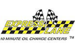 Express Lane 10 Minute Oil Change Center logo