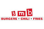 3 mb MEAT BURGER logo