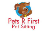 Pets R First Pet Sitting logo
