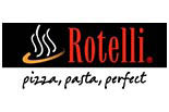 Rotelli Pizza, Pasta, Perfect logo
