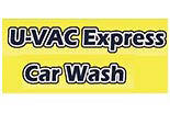 U-vac Express Car Wash logo