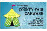 County Fair Carwash logo