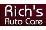 RICH'S AUTO CARE logo