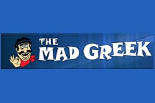 THE MAD GREEK logo
