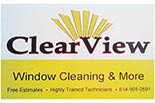 ClearView Window Cleaning & More logo