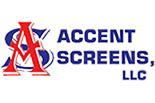 ACCENT SCREENS, LLC logo