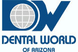 DENTAL WORLD OF ARIZONA logo