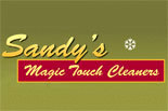 SANDY'S MAGIC TOUCH CLEANERS logo