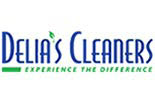 DELIA'S CLEANERS logo