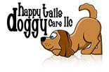 HAPPY TAILS DOGGY CARE logo