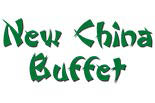 NEW CHINA BUFFET logo