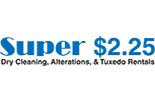 SUPER DRY CLEANERS logo