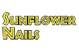 SUN FLOWER NAILS logo