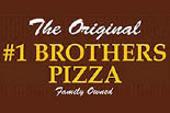 #1 BROTHERS PIZZA logo