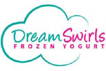 DREAM SWIRLS FROZEN YOGURT logo