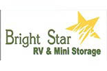 BRIGHT STAR RV AND MINI STORAGE logo