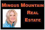 MINGUS MOUNTAIN                                  REAL ESTATE logo