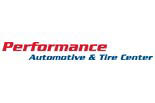 PERFORMANCE AUTOMOTIVE &  TIRE CENTER logo