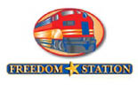FREEDOM STATION FAMILY FUN CENTER logo