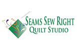 Seams Sew Right Quilt Studio logo