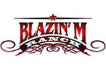 BLAZIN -M- RANCH logo