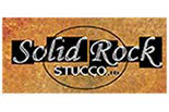 SOLID ROCK STUCCO logo