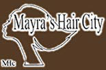 MAYRA'S HAIR CITY logo
