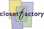 THE CLOSET FACTORY logo