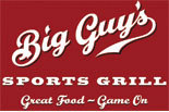 BIG GUYS SPORTS GRILL logo