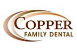 COPPER FAMILY DENTAL logo