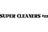 SUPER CLEANERS & ALTERATIONS logo