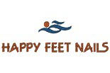 Happy Feet Nails logo