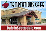 Temptations Cafe logo