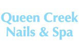 QUEEN CREEK NAILS & SPA logo