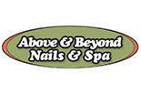 ABOVE & BEYOND NAILS AND SPA logo