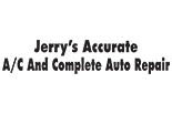 JERRY'S ACCURATE AUTO logo