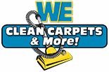 WE CLEAN CARPETS & MORE logo