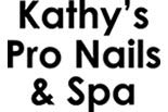 KATHYS PRO NAILS & SPA logo