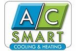 A/C SMART COOLING & HEATING logo