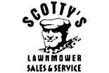 SCOTTY'S LAWNMOWER logo