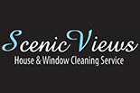 SCENIC VIEWS HOUSE & WINDOW CLEANING logo