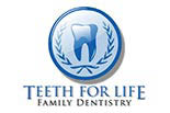 TEETH FOR LIFE FAMILY DENISTRY logo