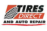 TIRES DIRECT & AUTO REPAIR logo