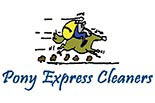 PONY EXPRESS CLEANERS logo