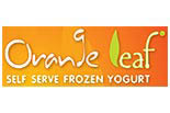ORANGE LEAF SELF SERVE FROZEN YOGURT logo